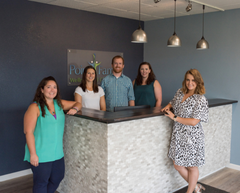 Dr. Douglas Schlei and the team at Point Family Wellness and Chiropractic